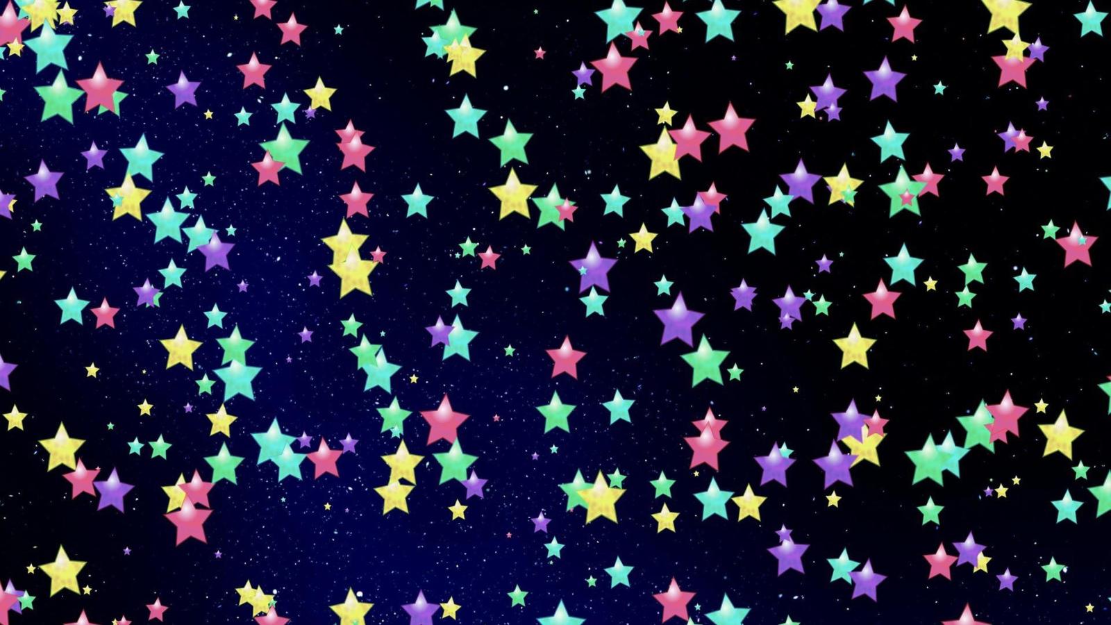 Звездочки открытка