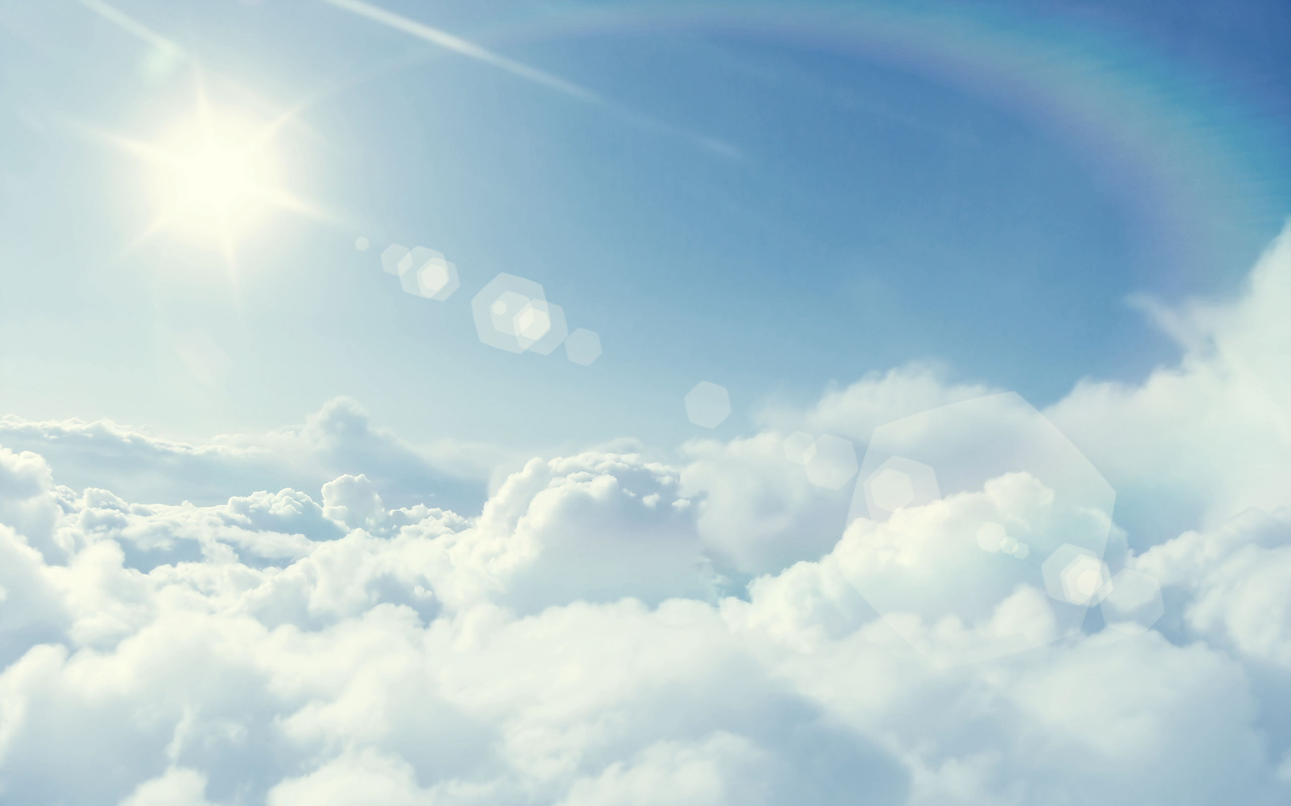 Солнце в облаках без смс