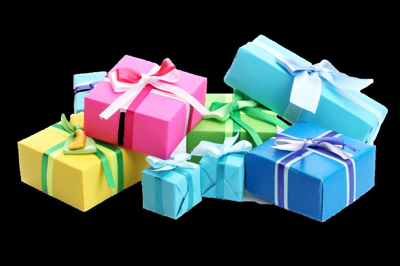 Картинки подарки в png 2