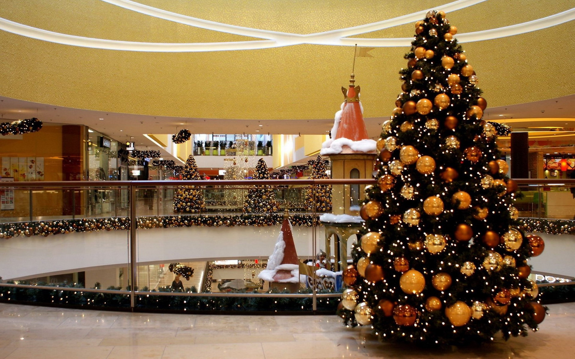 A Christmas tree is a decorated tree usually an evergreen conifer such as spruce pine or fir or an artificial tree of similar appearance associated with the