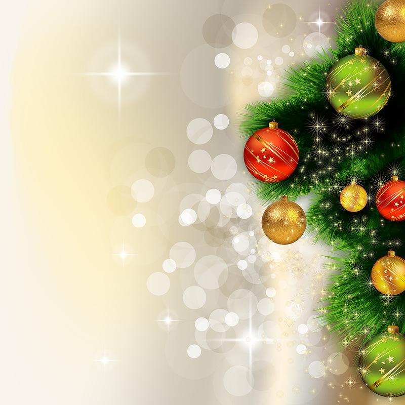 Фон для новогоднего поздравления 74