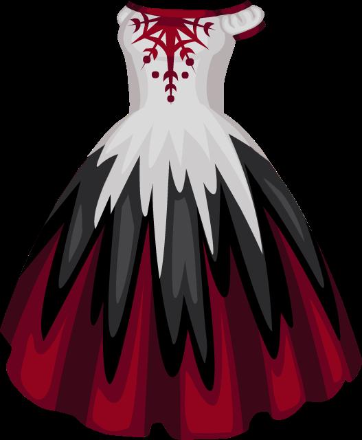 Фото красного платья из аватарии