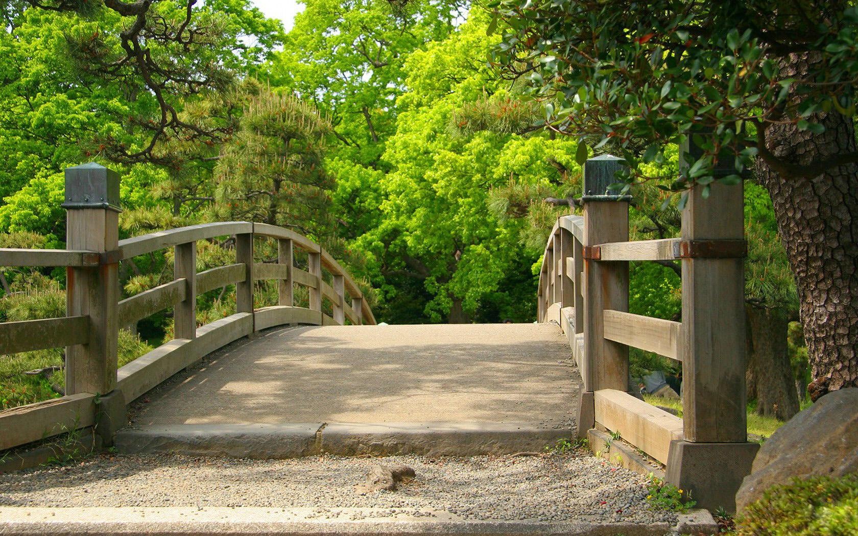 Полукруглый мостик  № 2239777 бесплатно