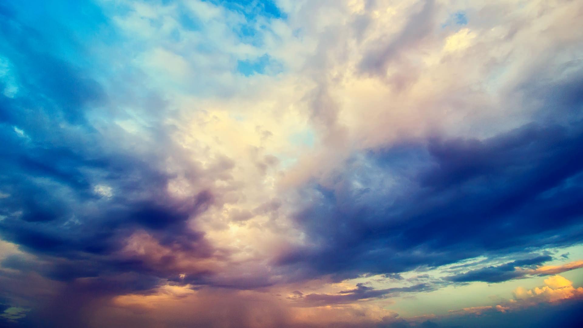 разноцветное небо скачать
