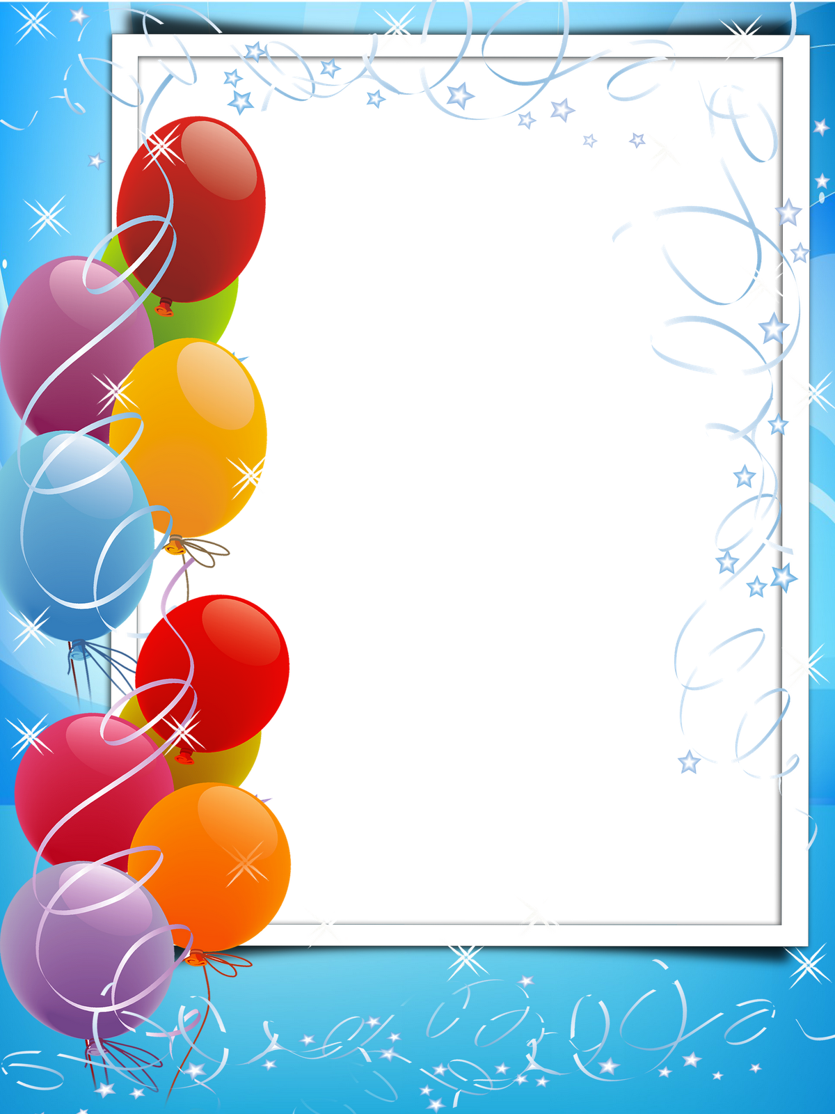 Шаблоны открыток с днем рождения для ворда