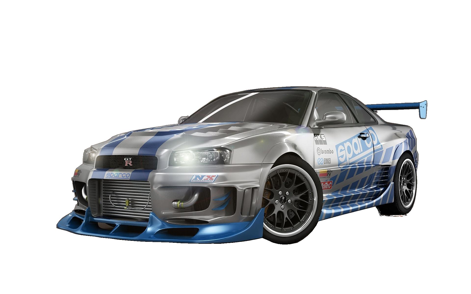 Pubg Hd Png Background: Наклейка Nissan Skyline Брайана О'Коннора PNG