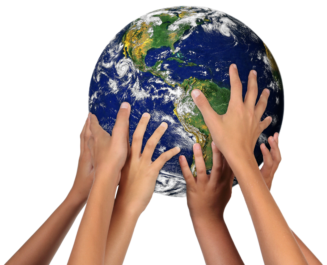 Картинки руки держащие планету
