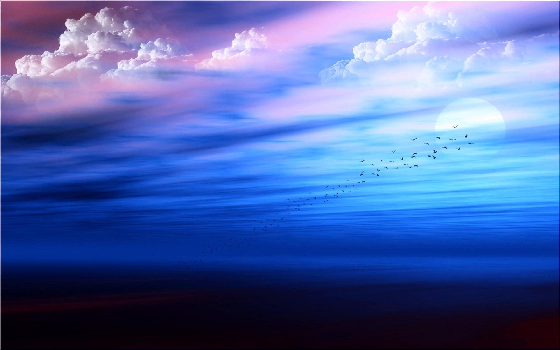 Синь небес открытки
