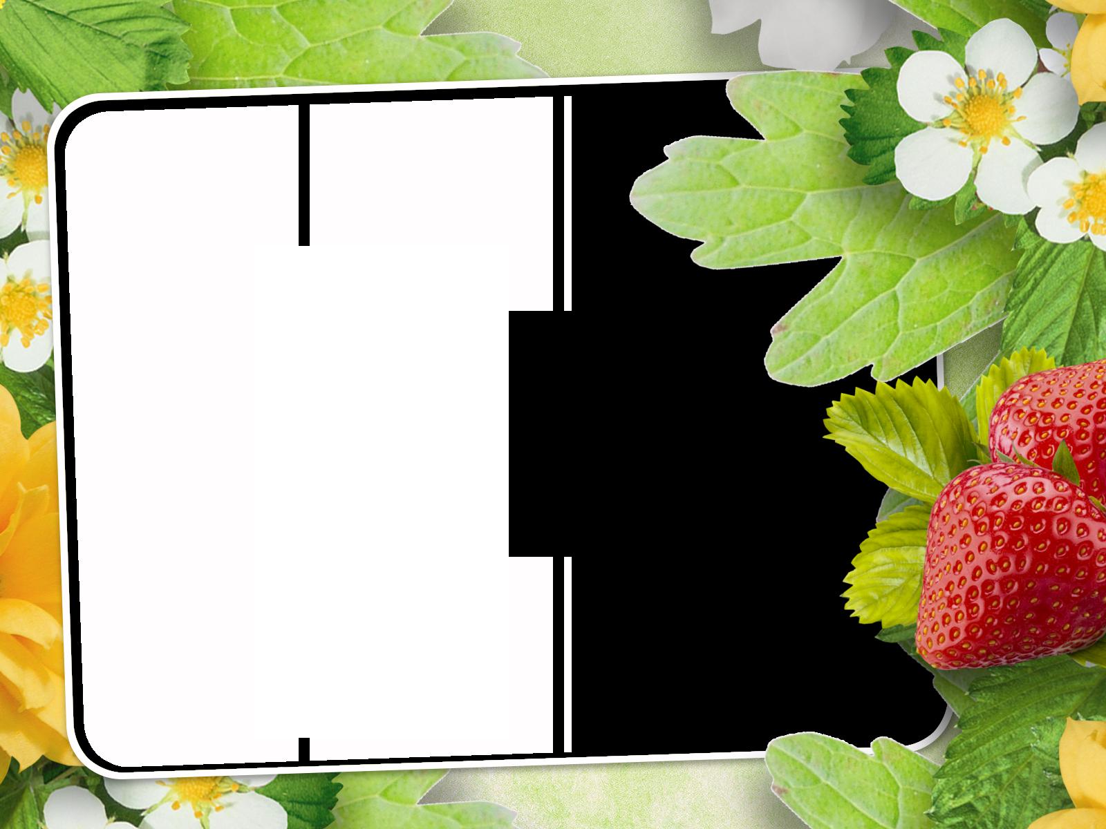 Рамки открытки ягоды