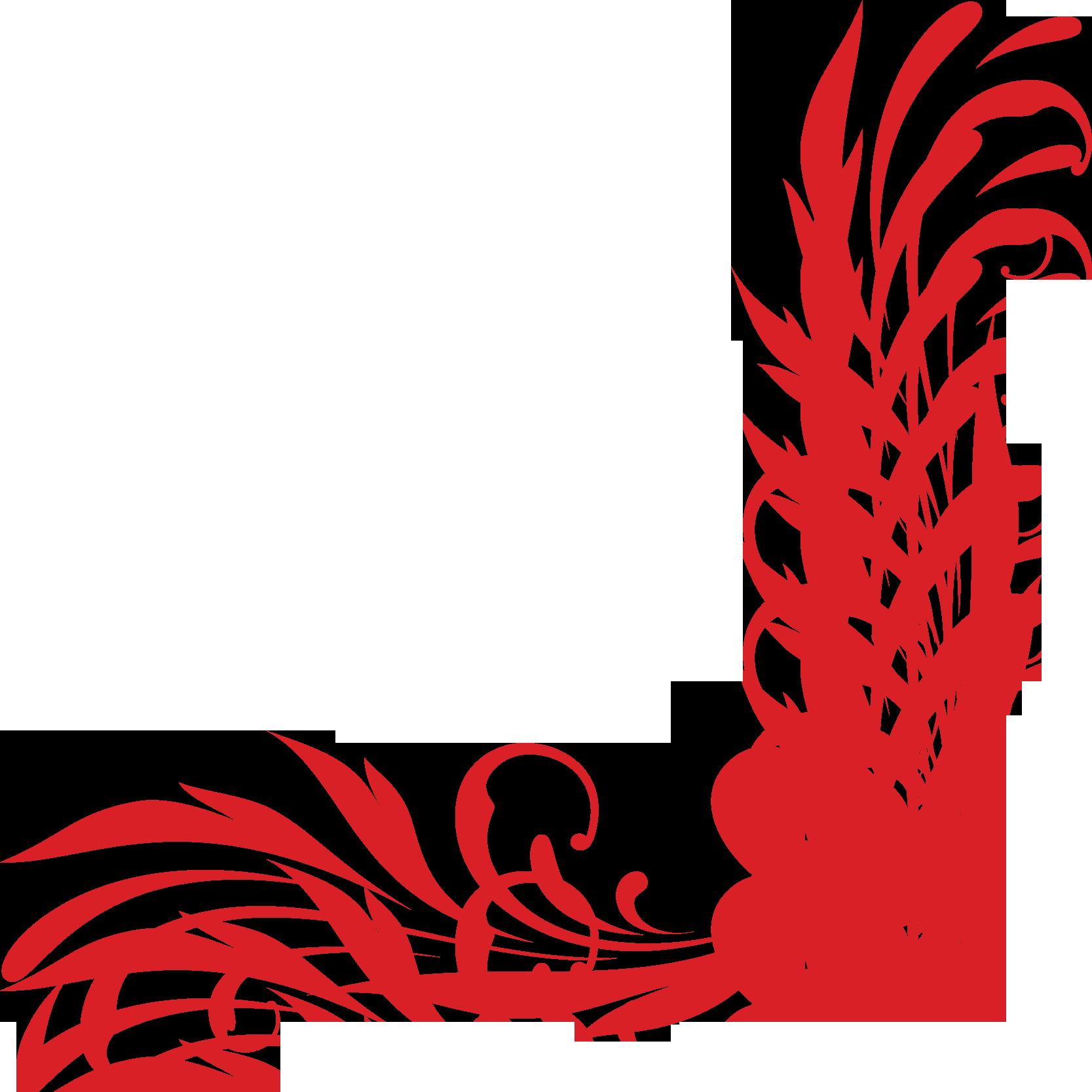 Флаг фон красный
