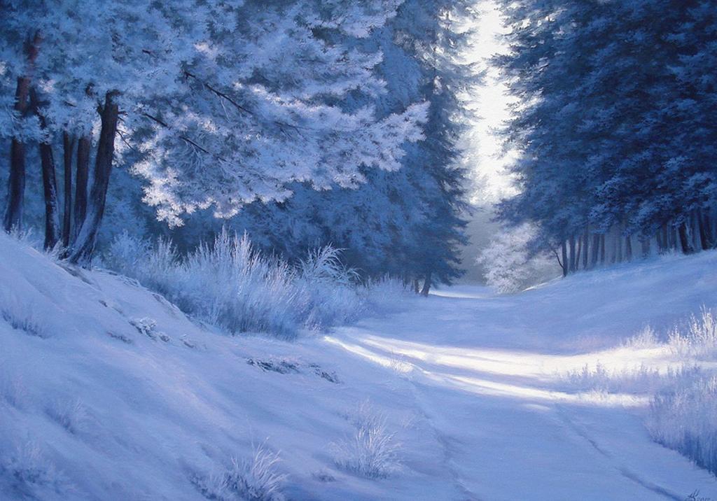 баттлов набирают красивая картинка гифка снежного леса один концов кабелей