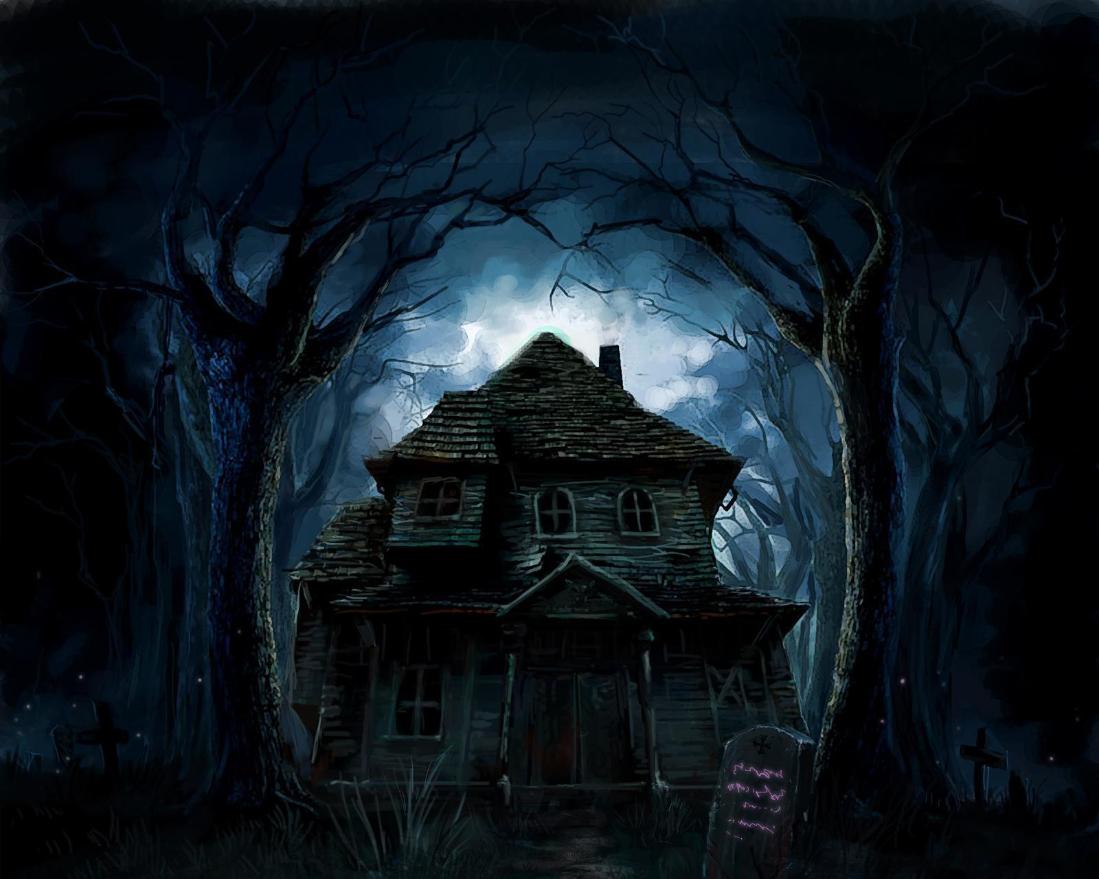 Haunted house  № 587608  скачать