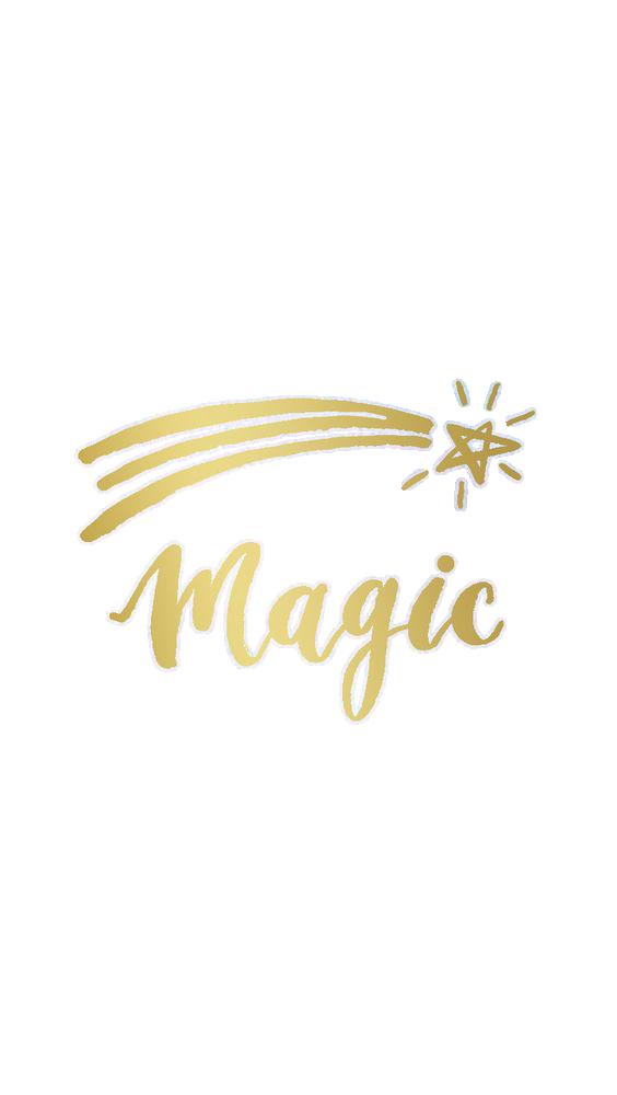 Картинка с надписью магия