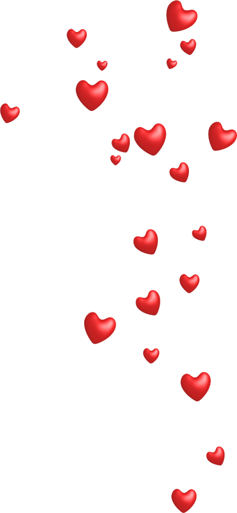 Маленькие сердечки картинки на прозрачном фоне, для мужчине