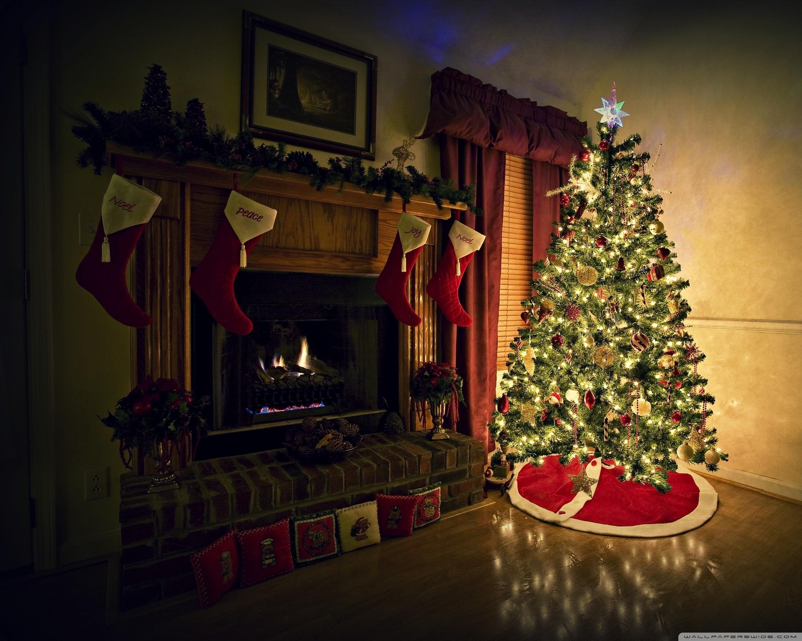 Картинки новый год дом елка