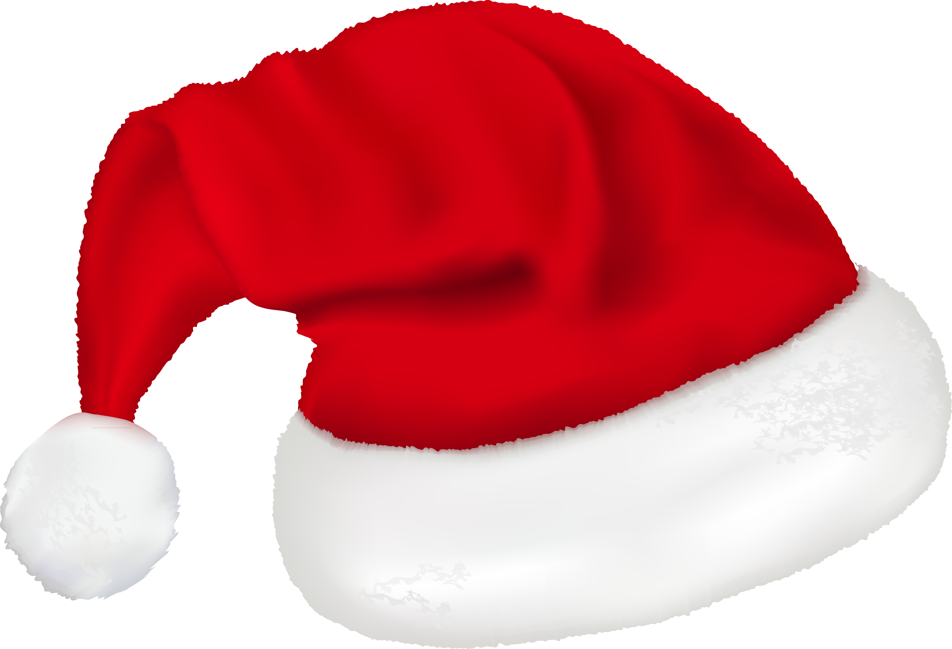 Картинки новогодней шапки деда мороза