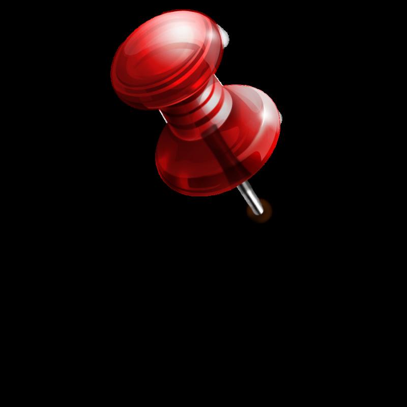 Наклейка канцелярская кнопка PNG - AVATAN PLUS