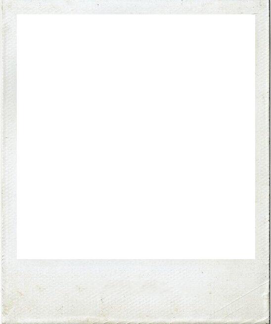 blank polaroid png - 548×655