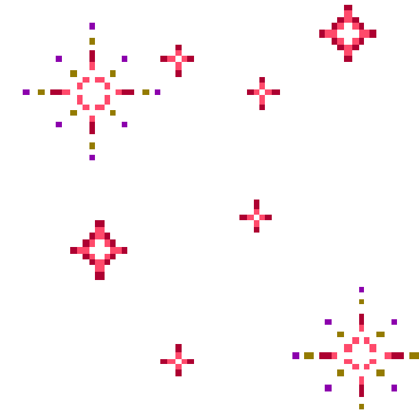 Анимация сверкающие звезды на прозрачном фоне