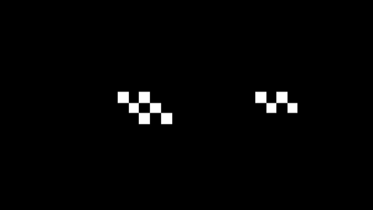 фоторедактор с пиксельными очками каждого