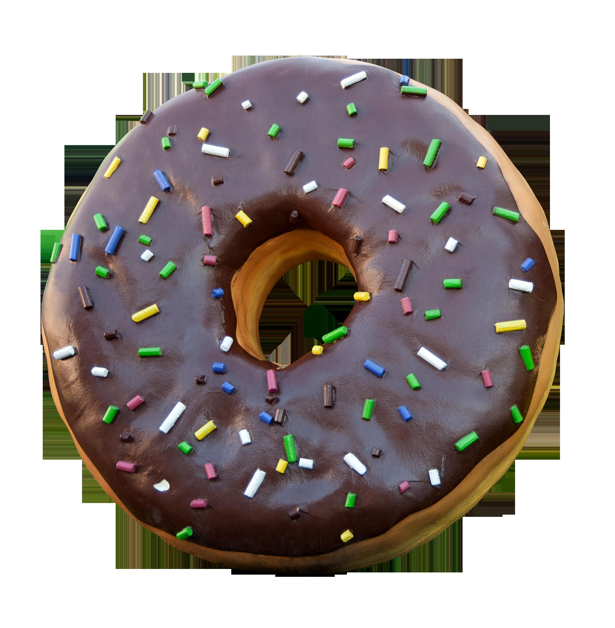 Зятю днем, картинка с пончиком