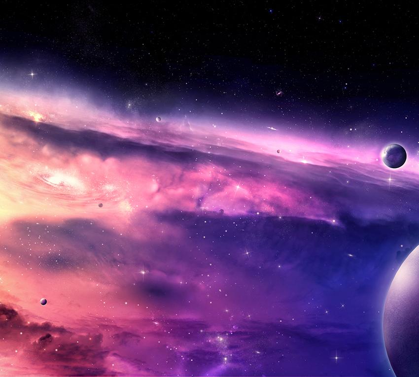 картинки офигенный космос голубой бежевый хорошее