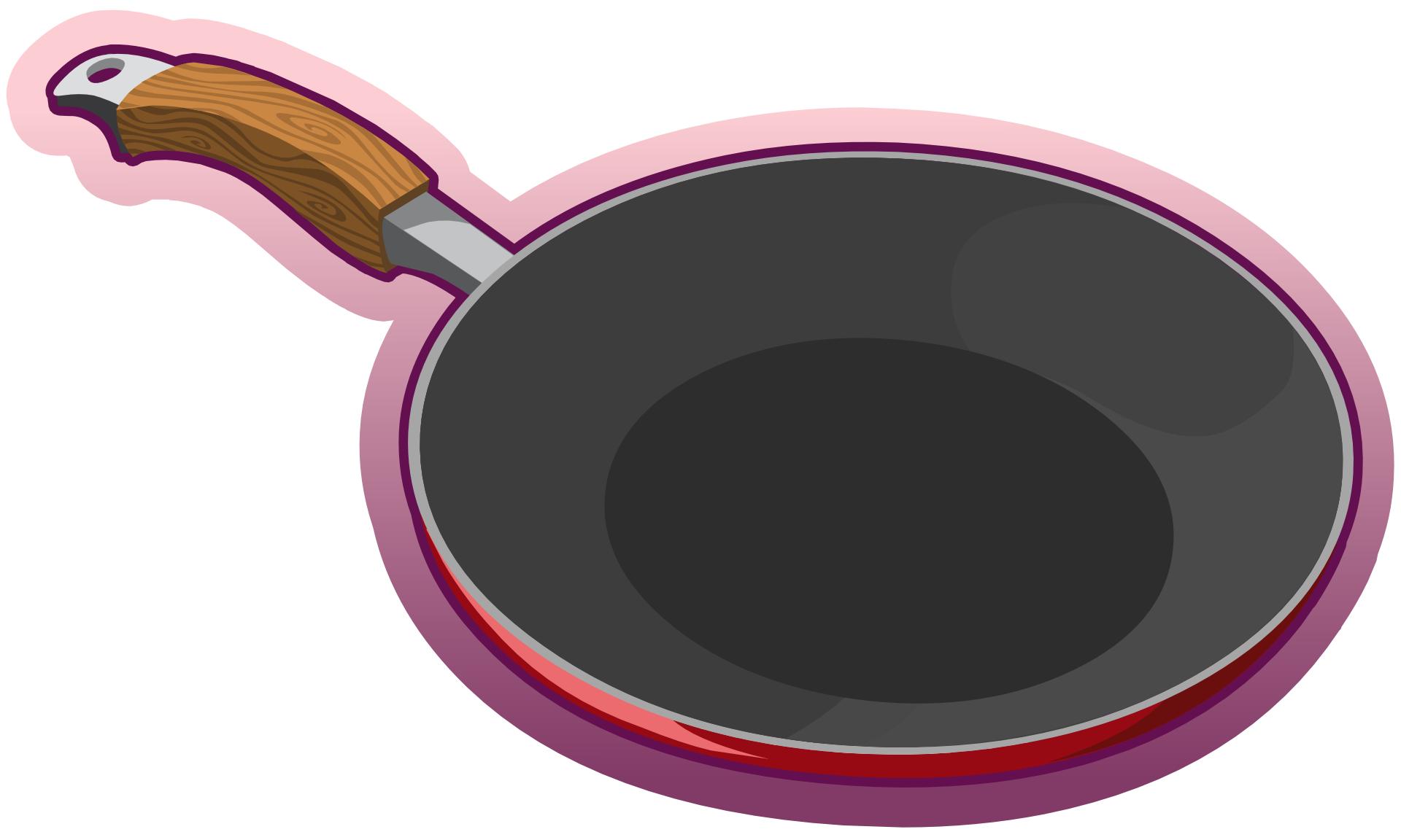 Картинка сковородка для детей на прозрачном фоне