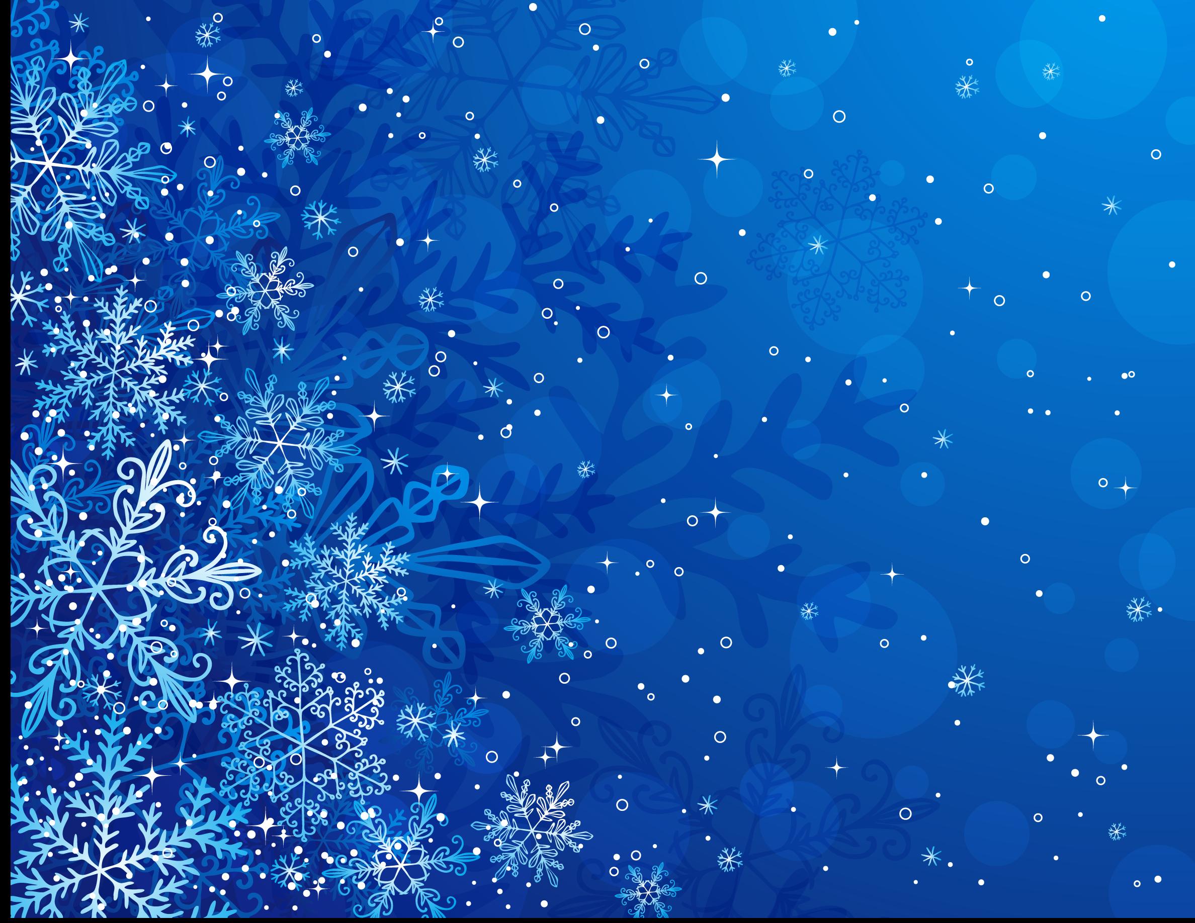 Зимняя открытка фон