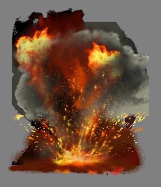 Наклейка Взрыв PNG - AVATAN PLUS