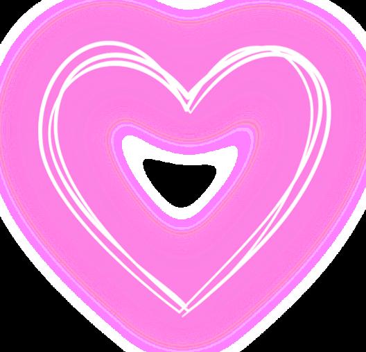Наклейка сердечко PNG - AVATAN PLUS