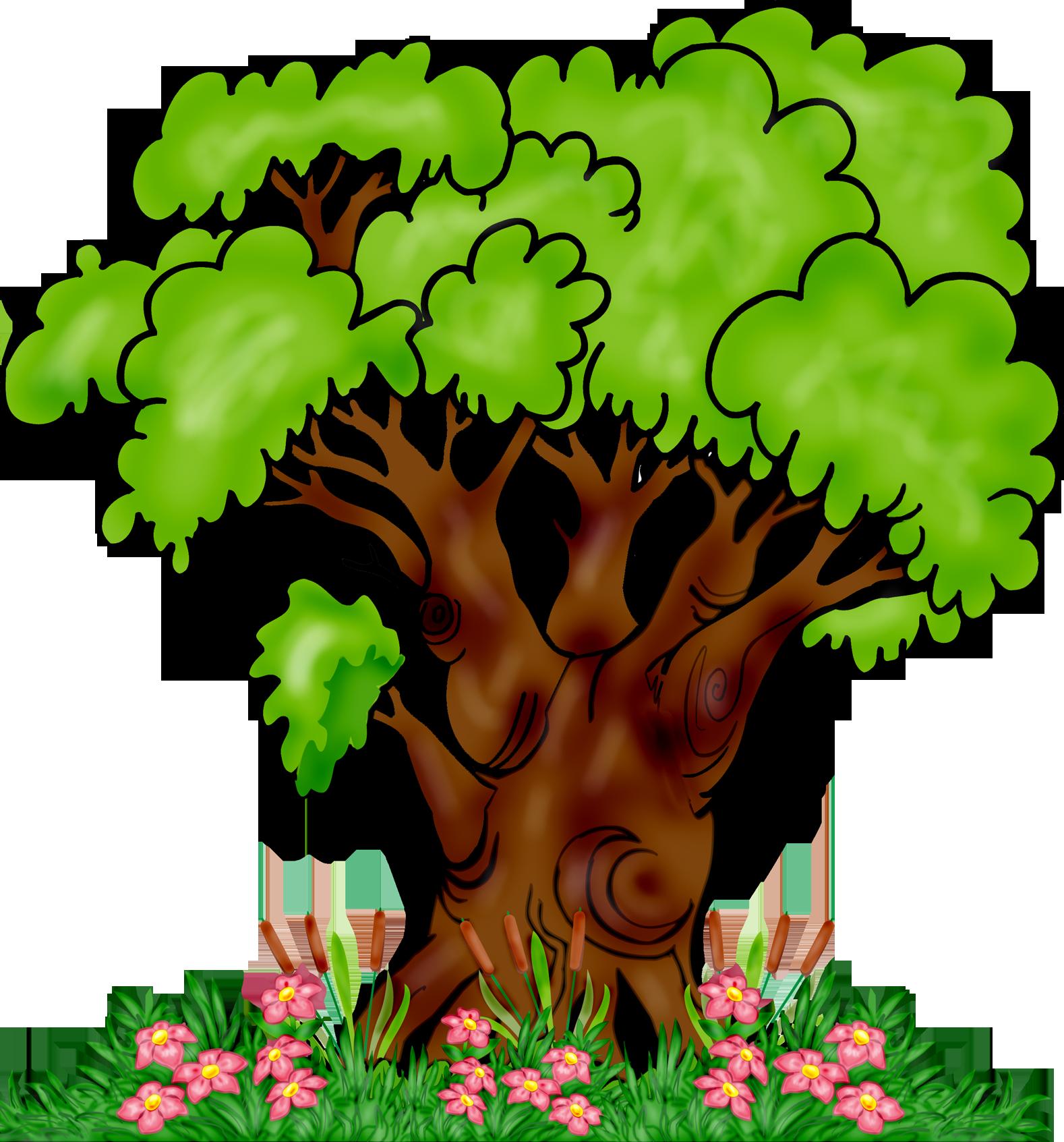 Картинка дуба дерево для детей