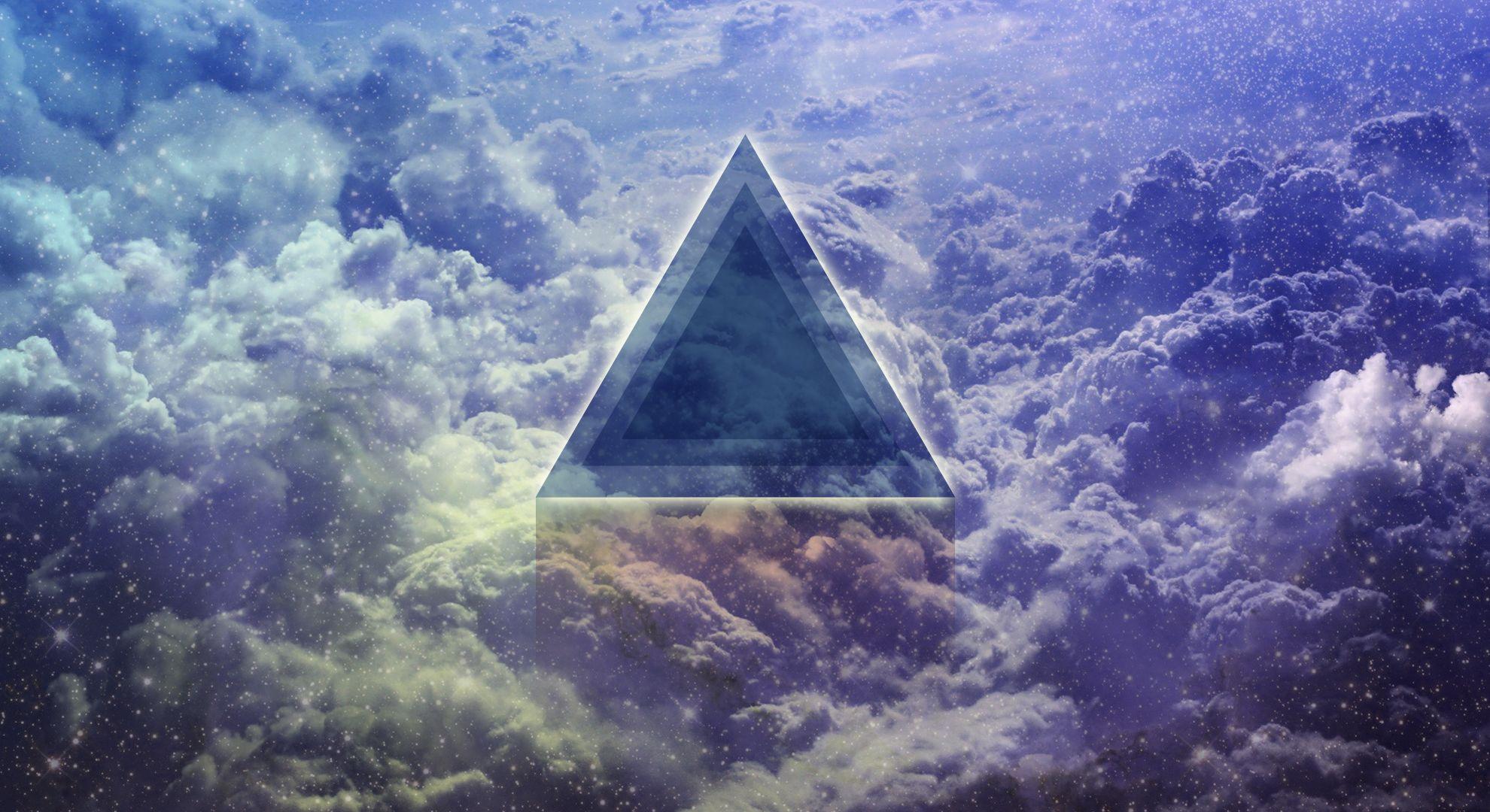 красивые картинки в треугольниках самого
