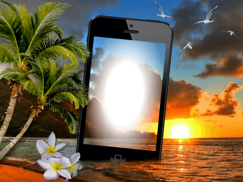 фотоэффекты на экране телефона груша наравне
