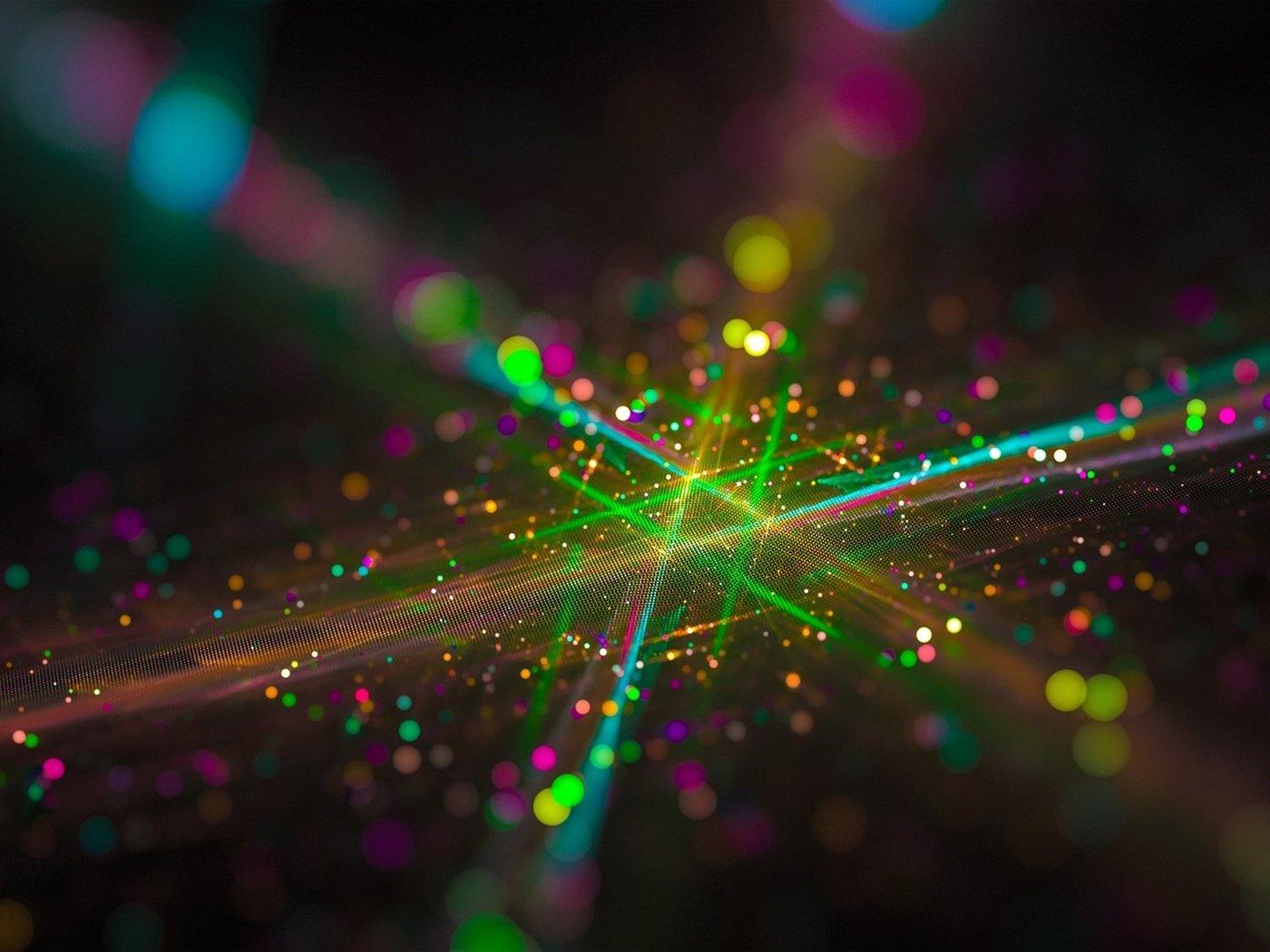 Разноцветный эффект для фото