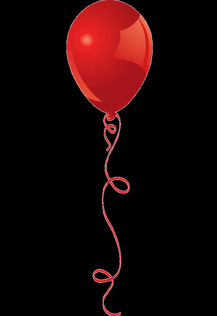 Картинки воздушный шарик красный
