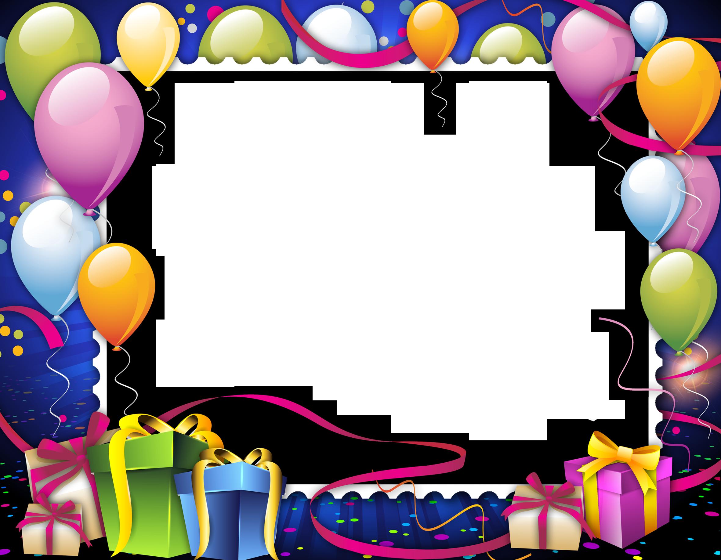 праздничные рамки для открытки с днем рождения пару