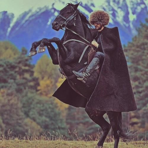 можно картинки джигитов на коне краска ложилась без